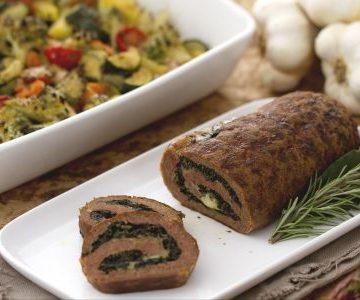 Ricetta Rollé di Macinato con Verdure