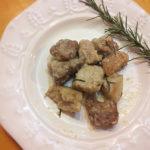 Bocconcini di maiale al rosmarino