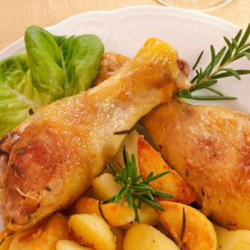 Ricetta Cosce di Pollo